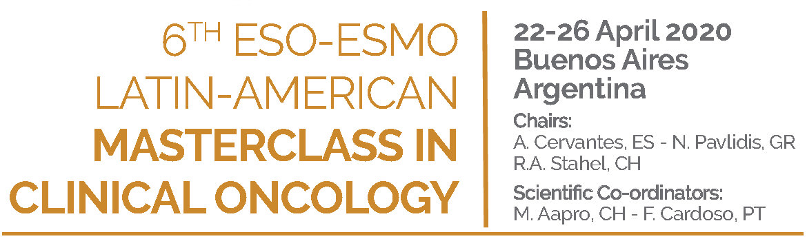 6th ESO-ESMO Latin-American Master Class in Clinical Oncology